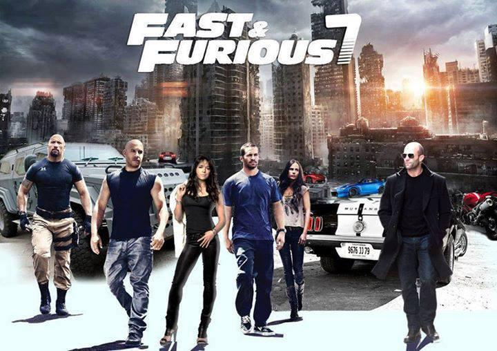 Free-Poster-Fast-and-Furious-7-Wallpaper