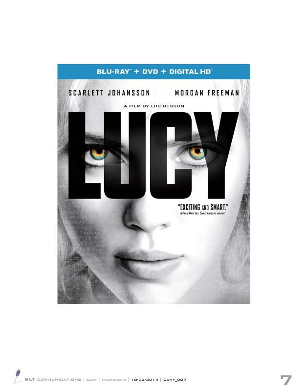 From Universal Pictures Home Entertainment: Lucy (PRNewsFoto/Universal Studios Home Ent.)