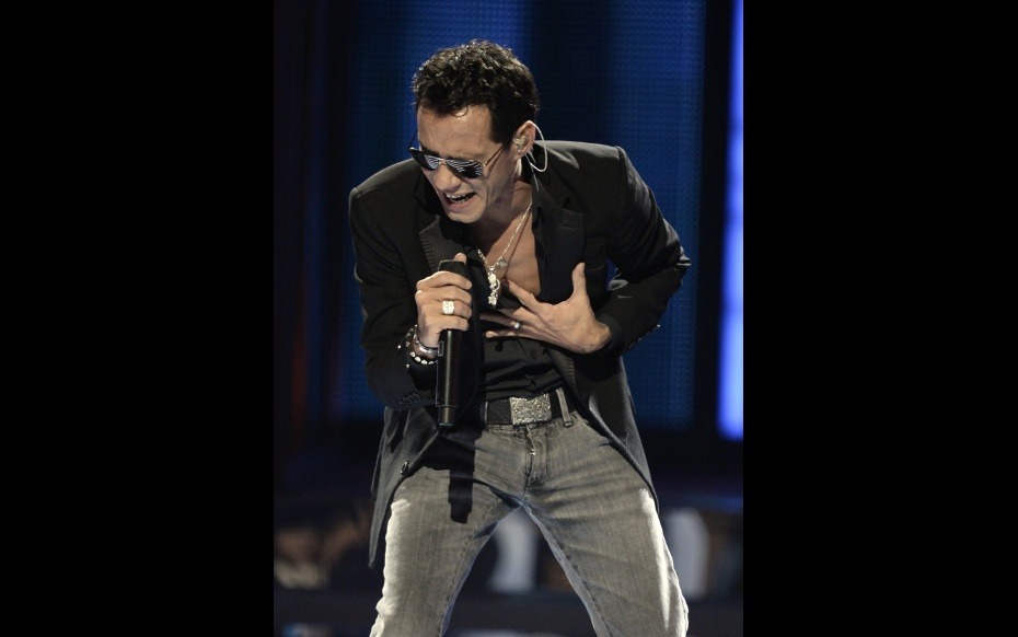Marc Anthony (Photo courtesy The Latin Recording Academy®)