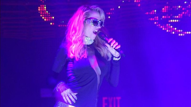 EDM Princess Noelia Heats Up Miami Beach Performing at the Sexiest Party On New Year's Day (PRNewsFoto/Noelia)
