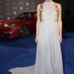 Iconic Porsche Sports Car on Display during Critics' Choice Movie Awards
