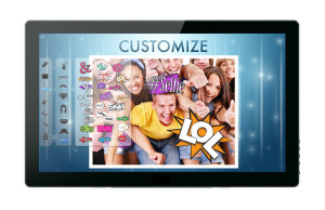With Capture, guests are able to edit their photos by adding freehand drawings, digital props, traditional and vintage photo filters and more. (PRNewsFoto/ShutterBooth)
