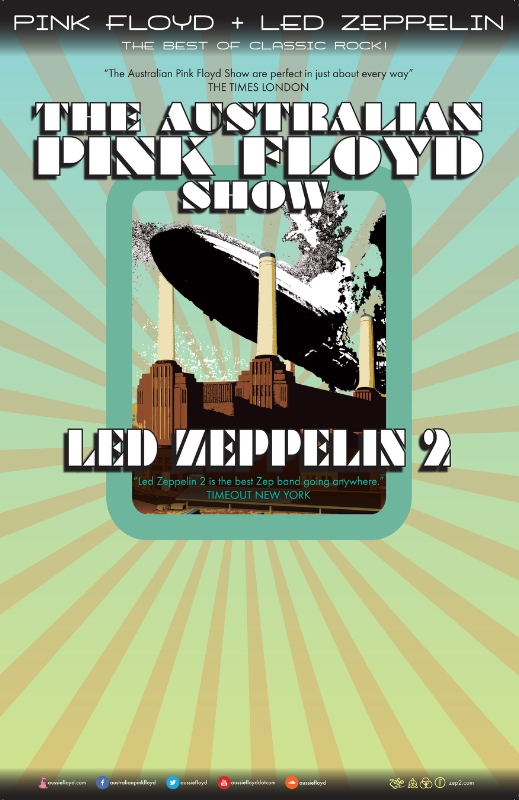AUSTRALIAN PINK FLOYD ANNOUNCE NORTH AMERICAN TOUR WITH LED ZEPPELIN2 (PRNewsFoto/Live Nation Entertainment)