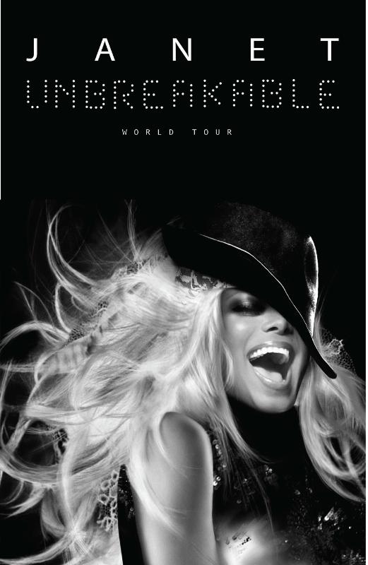 Janet Jackson Unbreakable World Tour (PRNewsFoto/BMG,Live Nation,William Morris E)