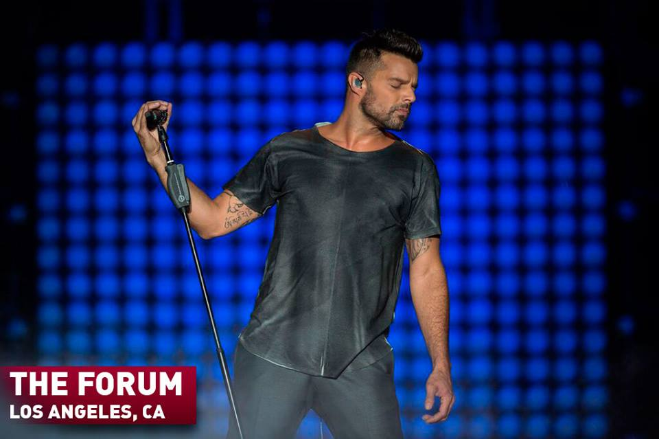 Very excited to have Ha*Ash joining me on my #OneWorldTour! Get tickets here for the show at The Forum on Sep. 19, 2015 and I'll see you soon!  (Photo courtesy Facebook.com/RickyMartinOfficialPage)