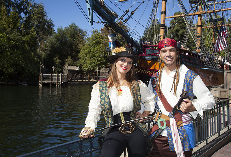 Borrgetti family. Foto Cortesía: (Larry Hack/Disneyland Resort)