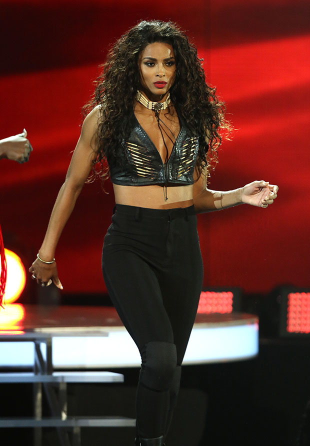 Recording artist Ciara performs on stage during the 2015 BET Awards on June 28, 2015 in Los Angeles, California. (Photo by Jc Olivera)