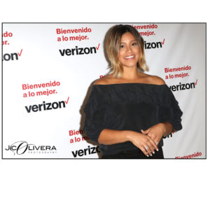 Gina Rodriguez teams up with Verizon to launch Bienvenido a lo Mejor and talk value of connections (Photo by Jc Olivera)