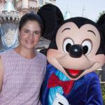 Golfista Mexicana Lorena Ochoa en Disneyland, Anaheim