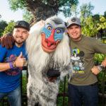 Joel y Poncho Lizarraga de Banda El Recodo en Walt Disney World