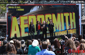 "Aerosmith ""The Global Warming Tour"" by Jc Olivera"