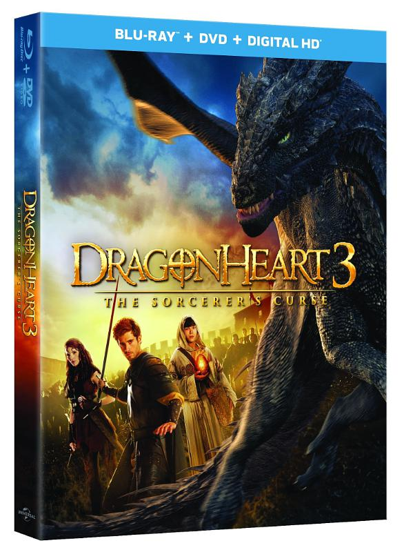 Universal Pictures Home Entertainment: Dragonheart 3: The Sorcerer's Curse (PRNewsFoto/Universal Studios Home Entertain)