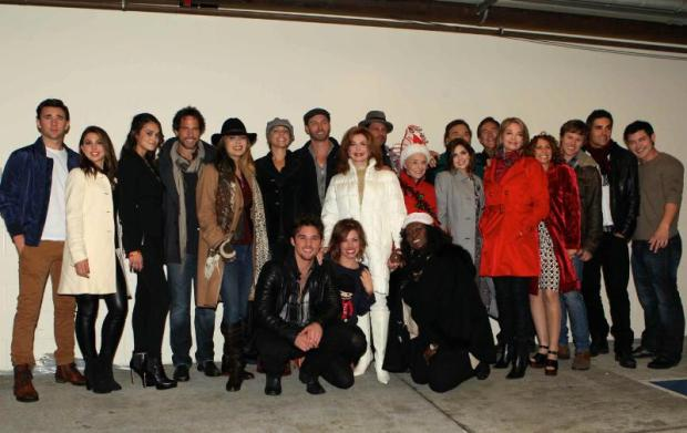 The cast of 'Days of our Lives'. (PRNewsFoto/Days of our Lives)
