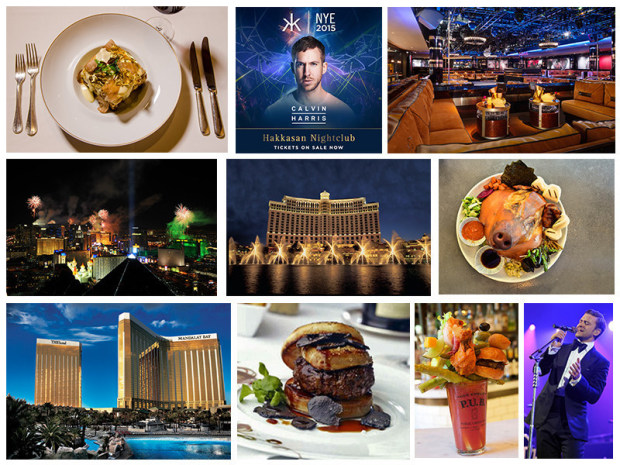Top 10 Ways to Celebrate New Year's Eve in Las Vegas (PRNewsFoto/MGM Resorts International)