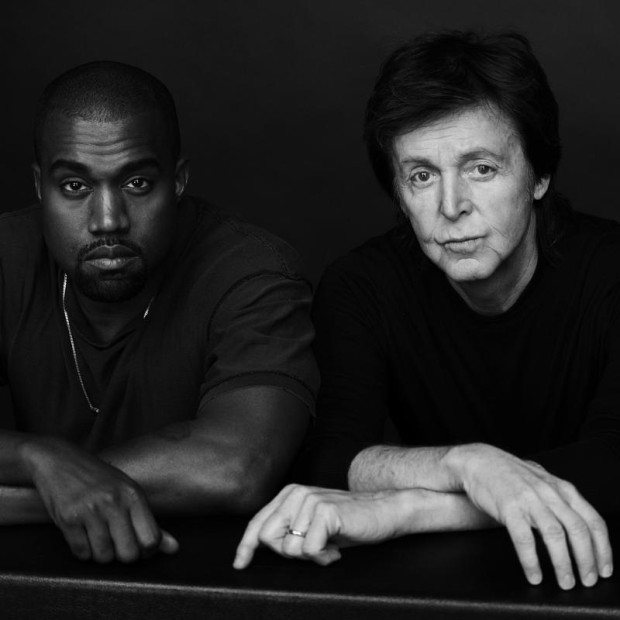 "Kanye West Releases ""Only One,"" First Single From Forthcoming Solo Album & First Reveal Of Several Musical Collaborations With Paul McCartney To Come. Photos by Inez and Vinoodh. (PRNewsFoto/Def Jam Recordings)"