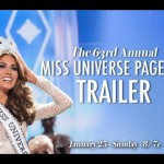 Tune in to the 63rd Annual Miss Universe Pageant. Live! January 25th @ 8pm/7c on NBC.