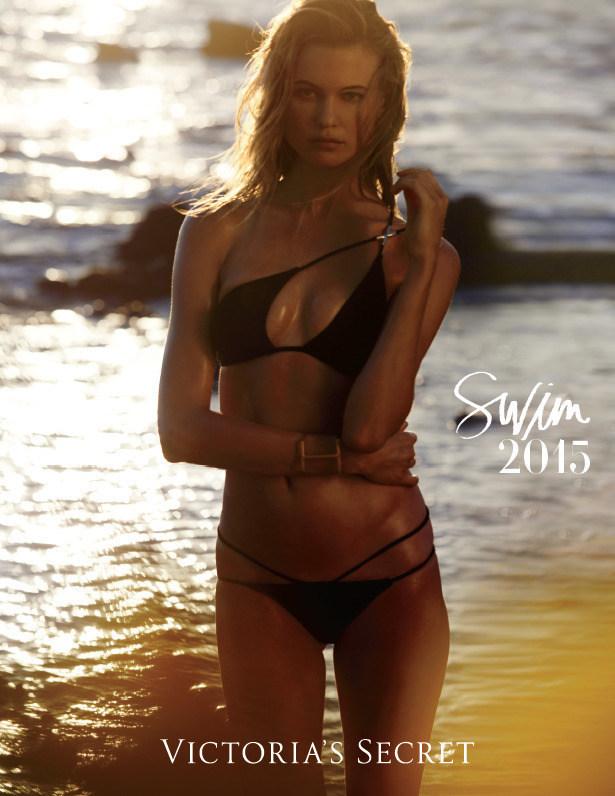 Victoria's Secret Releases the Swim 2015 Catalogue With Supermodel Behati Prinsloo Featured on Cover (PRNewsFoto/Victoria's Secret)