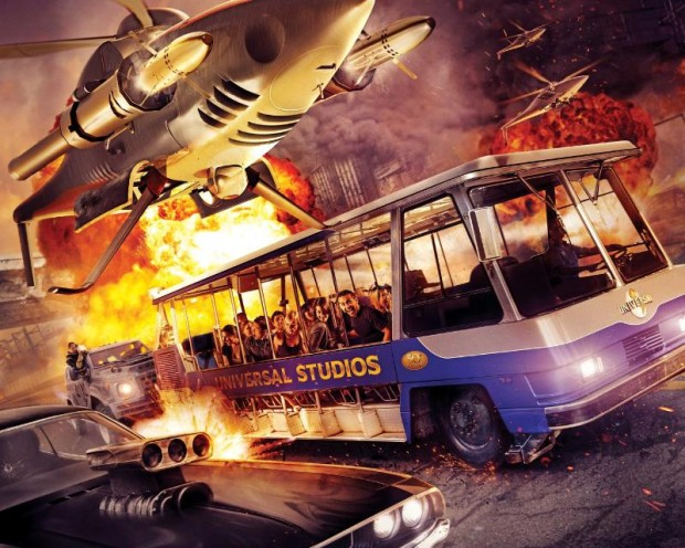 "Universal Studios Hollywood Goes Full Throttle with National Commercial Launching Much-Anticipated Summer 2015 Arrival of the Action-Packed Thrill Ride, ""Fast & Furious-Supercharged,"""