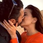 Eva Longoria dió el Si en Dubai!