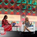 Sheryl Crow speaks during the #BlogHer16 Experts Among Us Conference