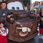 Joel Lizárraga y su bella familia en Disney California Adventure