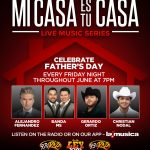 SBS Entertainment Celebrates Father's Day with a special edition of 'Mi Casa Es Tu Casa Live Music Series'