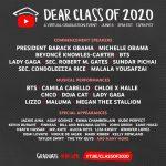 """Maluma, Jennifer Lopez, CNCO y otras estrellas latinas del entretenimiento se unen a la celebración de graduación virtual de YouTube Originals:   """"Dear Class of 2020"""""""