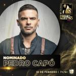 Pedro Capo Nominado a cinco categorias en Premio Lo Nuestro®